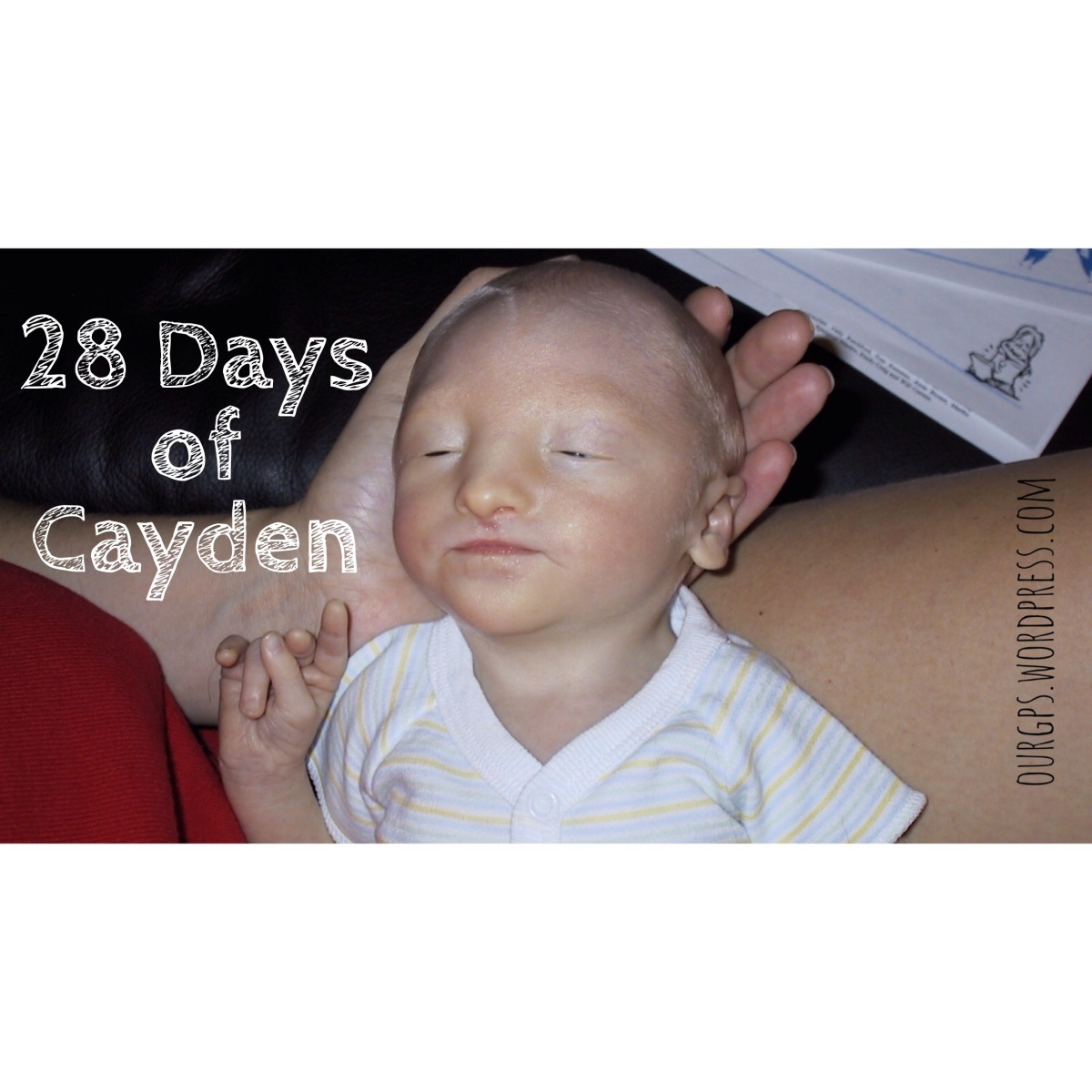 Beautiful in the Eyes of a Mama... & God: 28 Days of Cayden, Day 4